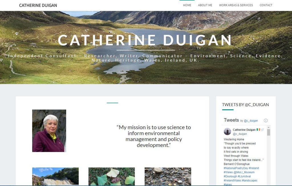 Catherine Duigan website